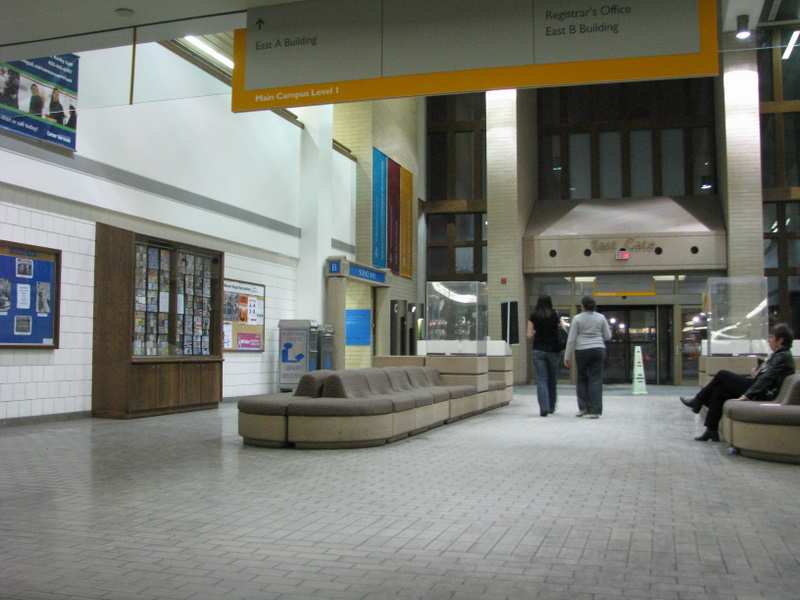 Mount Royal College - East Gate Entrance hall